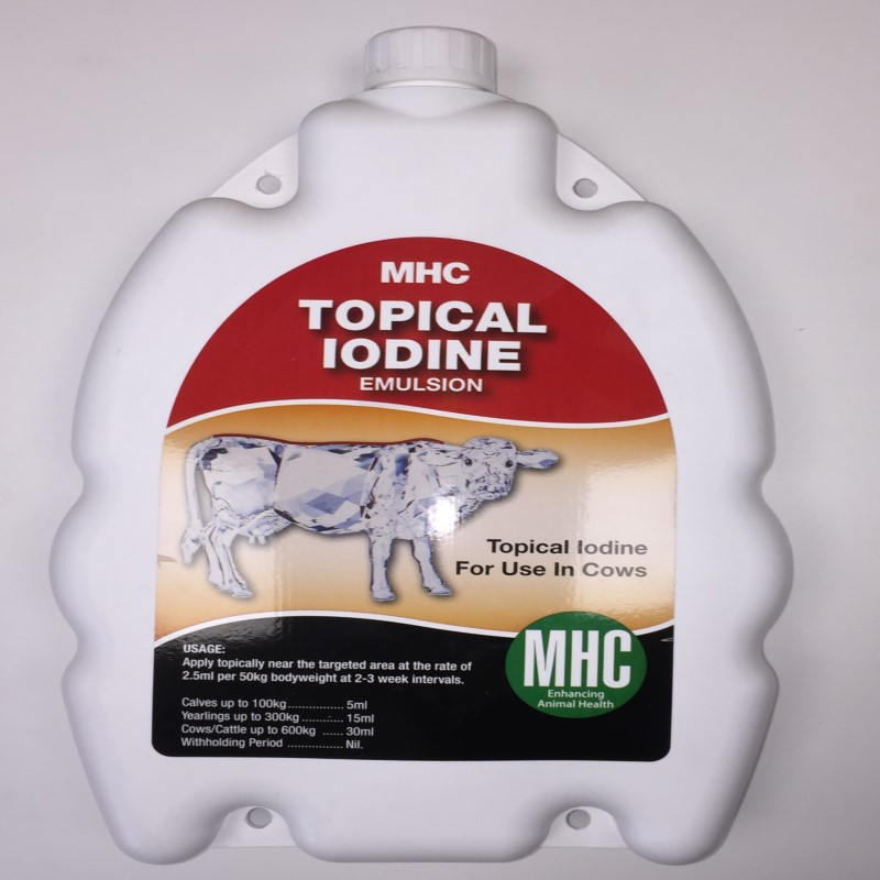 Topical Iodine Emulsion - 2 5 Litre
